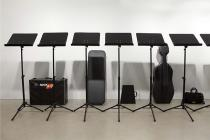 Ari Benjamin Meyers, installation view Songbook, Esther Schipper, Berlin, 2013. Photo: © Andrea Rossetti
