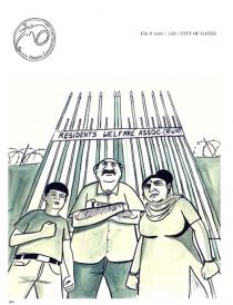 Sarnath Banerjee, from Harappa Files, 2011. Courtesy Sarnath Banerjee & Project 88, Mumbai