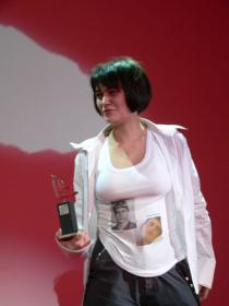 "Diana Machulina won the ""Best Young Artist"" award"