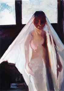Maria Lassnig, The Illegitimate Bride, 2007, Courtesy Friedrich Petzel Gallery