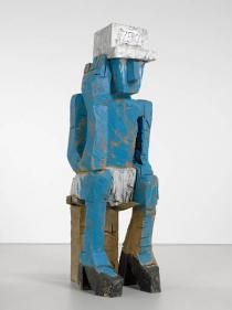 Georg Baselitz, Volk Ding Zero - Folk Thing Zero, 2009. Courtesy Contemporary Fine Arts, Berlin. Photo: Jochen Litkemann