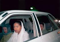 Shirin Aliabadi, Girls in Car 4, 2005. © Courtesy of the artist and The Third Line