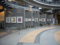 """To be a teacher is my greatest work of art"" at Deutsche Bank Luxembourg, exhibition view"