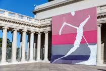 Julian Schnabel: Symbols of Actual Life, installation view, Legion of Honor. Courtesy Fine Arts Museums of San Francisco, photo: Moanalani Jeffrey