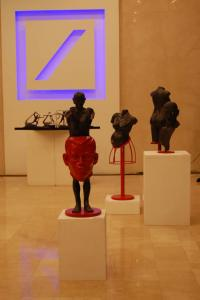 Installation view of Juan Sajid Imao's exhibition at the DKS headquarters at Taguig City, Manila