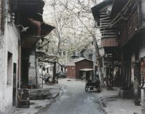 Thomas Struth, Gasse mit Platanen Wuhan / Street with Sycamore Trees Wuhan, 1997. Deutsche Bank Collection. © Thomas Struth