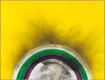 Otto Piene, Yellow,1975. Courtesy Private Collection Germany. Photo: bpk / Roman M�rz. � VG Bild-Kunst, Bonn 2014.