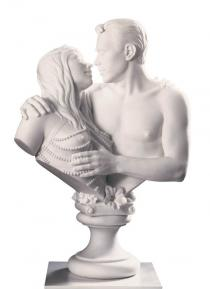 Jeff Koons, Bourgeois Bust - Jeff and Ilona, 1991. From Made in Heaven. © Jeff Koons