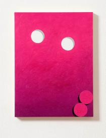 Eddie Peake, Glory Holes, 2010. Courtesy of Galleria Lorcan O'Neill Roma. Frieze London