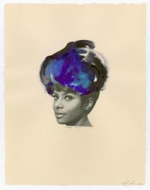 Lorna Simpson, Jet Black, 2012. Courtesy of the artist and Salon 94.© Lorna Simpson, 2012.All rights reserved.