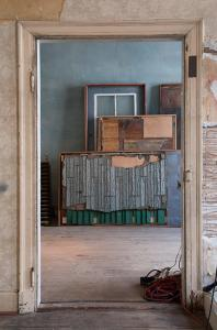 Theaster Gates, 12 Ballads for the Huguenot House, 2012. Installation view, Documenta 13, Kassel, Germany. Image courtesy of Kavi Gupta CHICAGO I BERLIN.