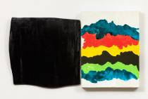 Mary Heilmann, Shadow and Splash, 2014-2015. ©Mary Heilmann. Photo: Thomas Müller. Courtesy of the artist, 303 Gallery, New York, and Hauser & Wirth