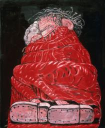 Philip Guston, Sleeping, 1977. Private Collection. � The Estate of Philip Guston