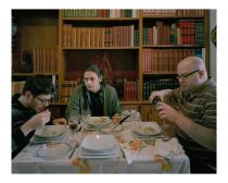 Nikolas Ventourakis, Lunch, from �Leaving Utopia�. Courtesy the artist