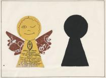 Mike Kelley, Keyhole Angel, 1981. Deutsche Bank Collection