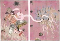 Wangechi Mutu, Yo Mama, 2003. The Museum of Modern Art, New York. The Judith Rothschild Foundation Contemporary Drawings Collection Gift. � Wangechi Mutu. Digital Image � The Museum of Modern Art/Licensed by SCALA/Art Resource, NY. Photo by David Allison