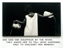 Lorna Simpson, Waterbearer, 1986. Courtesy of the artist and Salon 94.© Lorna Simpson, 2012.All rights reserved.