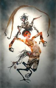 Wangechi Mutu, I put a spell on you, 2005. Collection of Mandy and Cliff Einstein, Los Angeles. Photo: Joshua White. � Wangechi Mutu and Susanne Vielmetter Los Angeles Projects