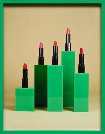 Elad Lassry, Lipstick, 2009. Courtesy of David Kordansky Gallery, Los Angeles, CA
