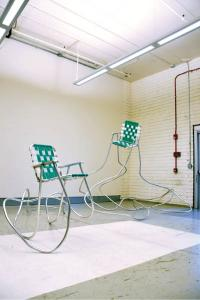 Andy Ralph, Lawn Chair, 2010. Courtesy of the artist and Luis De Jesus Los Angeles