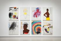 Glenn Ligon, AMERICA, installation view. Los Angeles County Museum of Art. �  Glenn Ligon. Photo � Museum Associates/LACMA