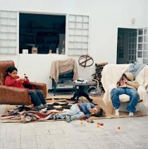 Yto Barrada, Living Room (Le Salon), 2008/11. � Yto Barrada. Courtesy the artist and Sfeir-Semler Gallery, Hamburg and Beirut