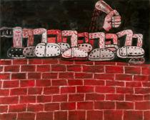 Philip Guston, Discipline, 1976. Private collection � The Estate of Philip Guston