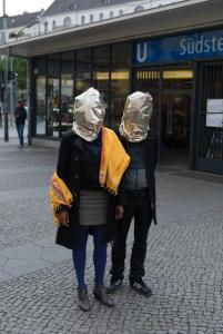 Mwangi Hutter near their studio, Berlin Kreuzberg. Photo Michael Danner