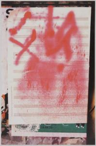 Christian Marclay, Graffiti Composition, 2002, Deutsche Bank Collection, Courtesy Paula Cooper Gallery, New York. © Christian Marclay