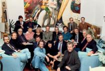 The Photorealists at a party for the book  �Photorealism Since 1980�, Meisel�s loft, April 22, 1993. 