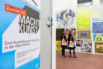 MACHT KUNST 2. Photo: Mathias Schormann. � Deutsche Bank KunstHalle