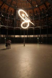 Conrad Shawcross, Timepiece, 2013. Installation view: The Roundhouse, London.