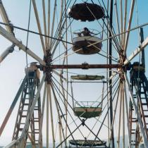 Yto Barrada, Ferris Wheel, 2001. � Yto Barrada. Courtesy the artist and Sfeir-Semler Gallery, Hamburg and Beirut