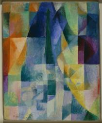 Robert Delaunay, Simultaneous Windows (2nd Motif, 1st Part), 1912. Solomon R. Guggenheim Museum, New York, Solomon R. Guggenheim Founding Collection