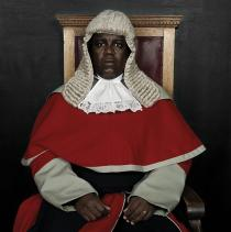 "Pieter Hugo, THE HONOURABLE JUSTICE MOATLHODI MARUMO, from ""JUDGES OF BOTSWANA"", 2005
