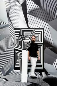 Tobias Rehberger, Home and Away and Outside, Installation view, 2014. © Schirn Kunsthalle Frankfurt. Photo: Norbert Miguletz.