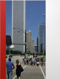 Ian Wallace, Chicago Crosswalk, 2007, Private Collection