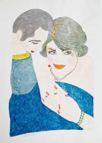 Shirin Aliabadi, Love Triangle 3, 2010-2011. © Courtesy of the artist and The Third Line
