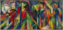 Franz Marc, Stables, 1913. Solomon R. Guggenheim Museum, New York, Solomon R. Guggenheim Founding Collection