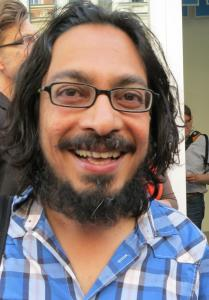Sarnath Banerjee. Berlin, June 2013. Photo Achim Drucks