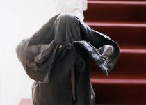 Wolfgang Tillmans, grey jeans over stairpost, 1991. Städel Museum, Frankfurt am Main. Photo: Rühl & Bormann. © Wolfgang Tillmans, Courtesy Galerie Daniel Buchholz, Köln/Berlin