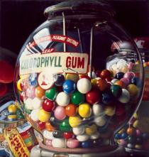 "Charles Bell, Gum Ball No.10 ""Sugar Daddy"", 1975