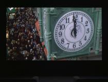 The Clock, 2010. Single-channel video. Duration 24 hours. Installation view: ILLUMInations, 54. Esposizione Internazionale d'Arte - la Biennale di Venezia