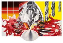 James Rosenquist, The Swimmer in the Econo-mist #3. Solomon R. Guggenheim Museum, New York. Commissioned by Deutsche Bank AG in consultation with the Solomon R. Guggenheim Foundation for the Deutsche Guggenheim, Berlin. © Estate of James Rosenquist/VG Bild-Kunst, Bonn 2017. Photo: Courtesy of the Estate of James Rosenquist