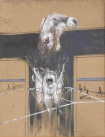 Francis Bacon, Fragment of a Crucifixion, 1950