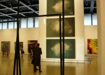 "Exhibition view. ""Gerhard Richter. Panorama"" at the Neue Nationalgalerie, Berlin. Photo Achim Drucks"