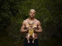 "Pieter Hugo, WITH MY SON, JAKOB HUGO, NATURES VALLEY, from ""KIN"", 2006-2013.© Pieter Hugo, 