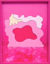 Elad Lassry, Woman (Pink Puzzle), 2011. Courtesy of David Kordansky Gallery, Los Angeles, CA