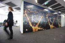 Commissioned work by Dayanita Singh in the Deutsche Bank Towers. � Dayanita Singh, Courtesy of the artist and Frith Street Gallery, London, Photo: Alex Kraus