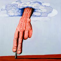 Philip Guston, The Line, 1978. Private collection � The Estate of Philip Guston